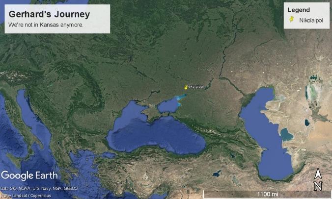 Gerhards Journey Google Earth