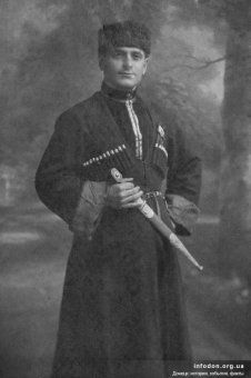 Maxim Yevseyevich Kozyr in the 20s, Yuzovka
