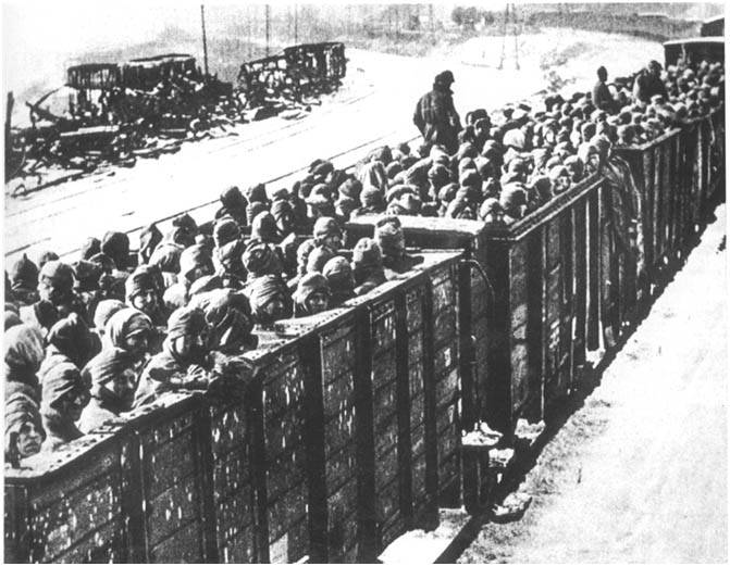 soviet pows transport 2