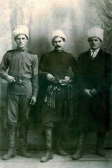 Stepan, Svirid and Petro Kotsuri.