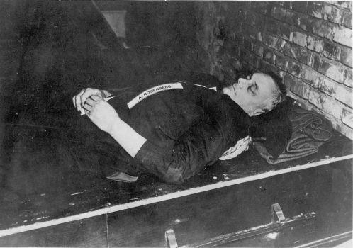 Dead Alfred Rosenberg