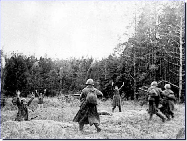 German defeat in Bagration
