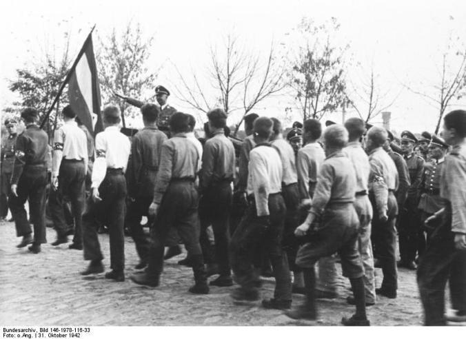 Heinrich Himmler in Halbstadt