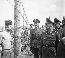 Himmler during
