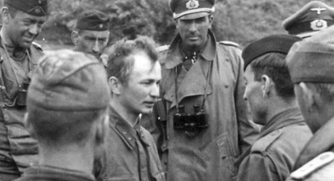 Interrogation of captured Soviet