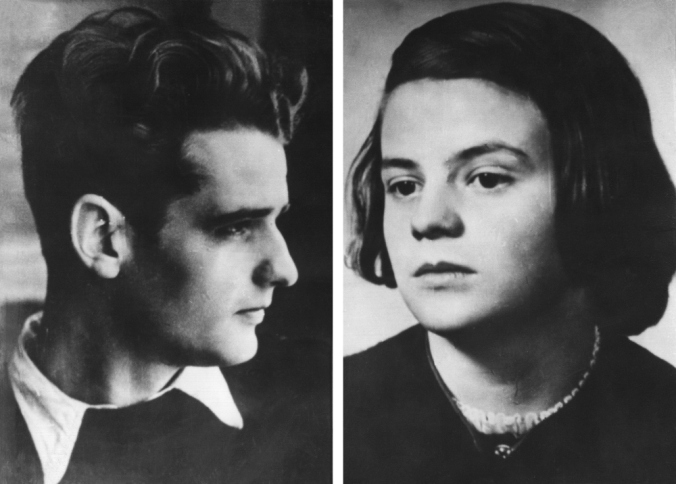 Sophie Scholl and her bro