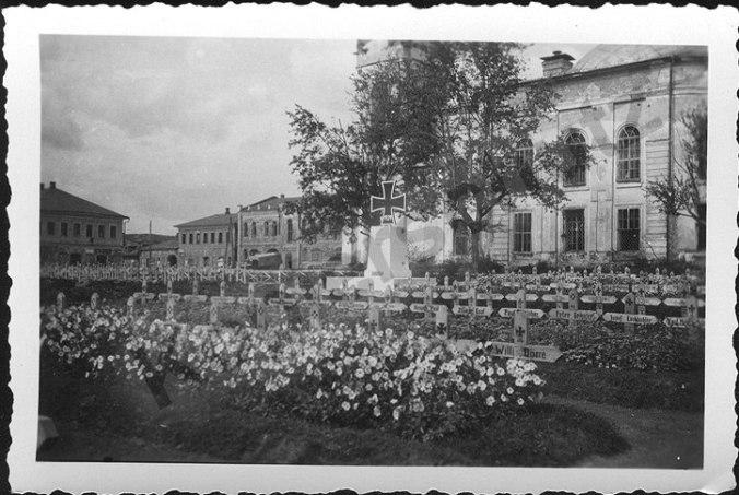 Zhizdra cemetery