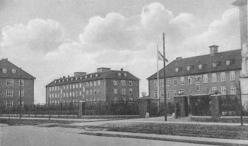 Die Horn-Kaserne in Frankfurt Oder 1943.