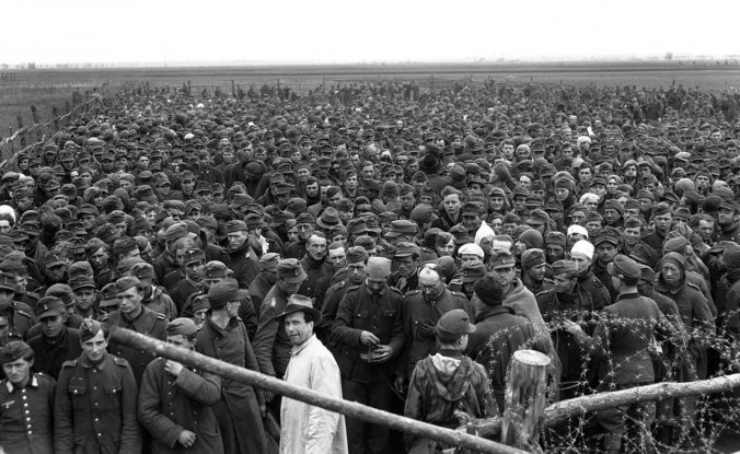 German pows 1945 where is gerhard