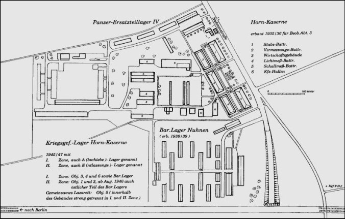 Horn Kaserne camp layout