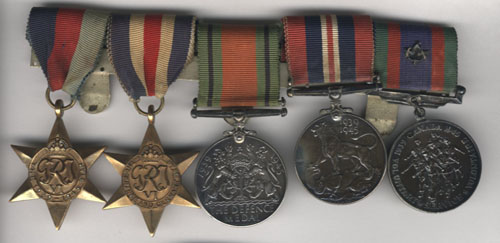 medals of Henry Ratzlaff Courtesy of Mennonite Historical Society