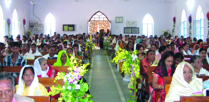 The Mennonite Church in India celebrated its 100th anniversary Oct. 27-30 with a gathering of about 1,000 people at Sunderganj Mennonite Church.